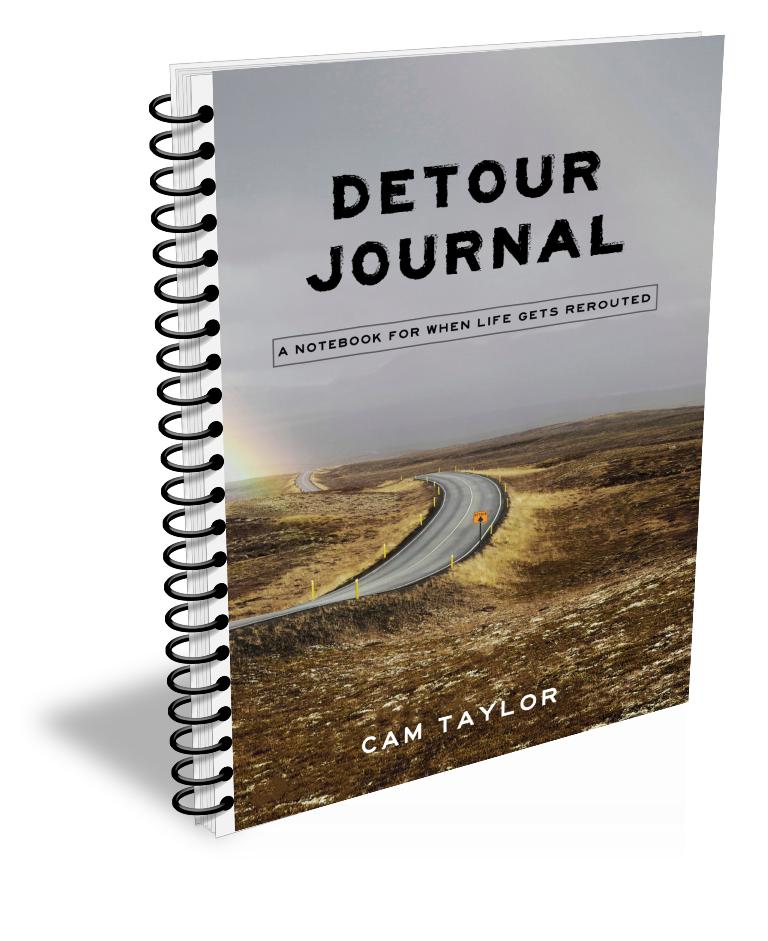 Detour journal notebook
